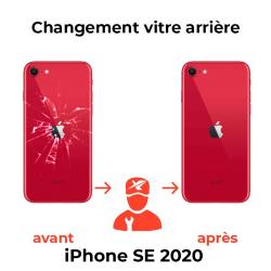 vitre arriere iphone se 2020
