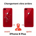 Remplacement Vitre Arrière iPhone 8 Plus