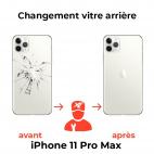 Remplacement Vitre Arrière iPhone 11 Pro Max