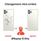 Remplacement Vitre Arrière iPhone 11 Pro