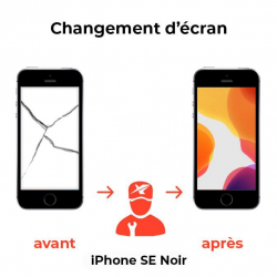 Changement d'écran iPhone SE