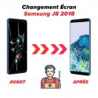 Réparation écran Samsung J8 2018