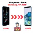 Réparation écran Samsung J6+ 2018