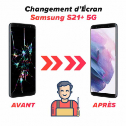 Réparation Ecran Samsung S21+ 5G