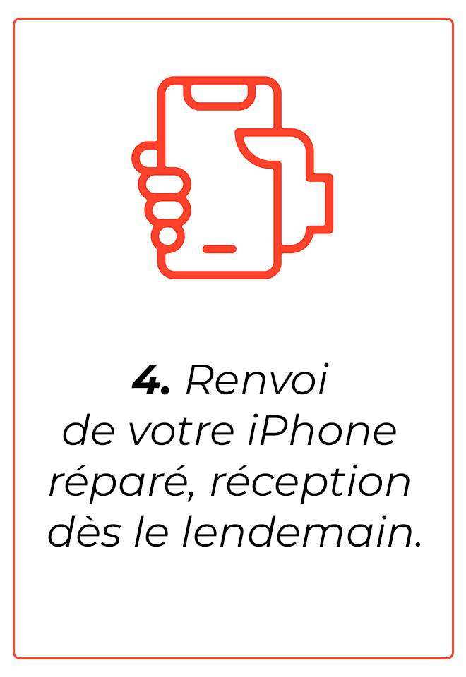 écran iphone 6S Plus tours
