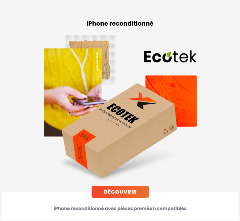iPhone reconditionné ecotek