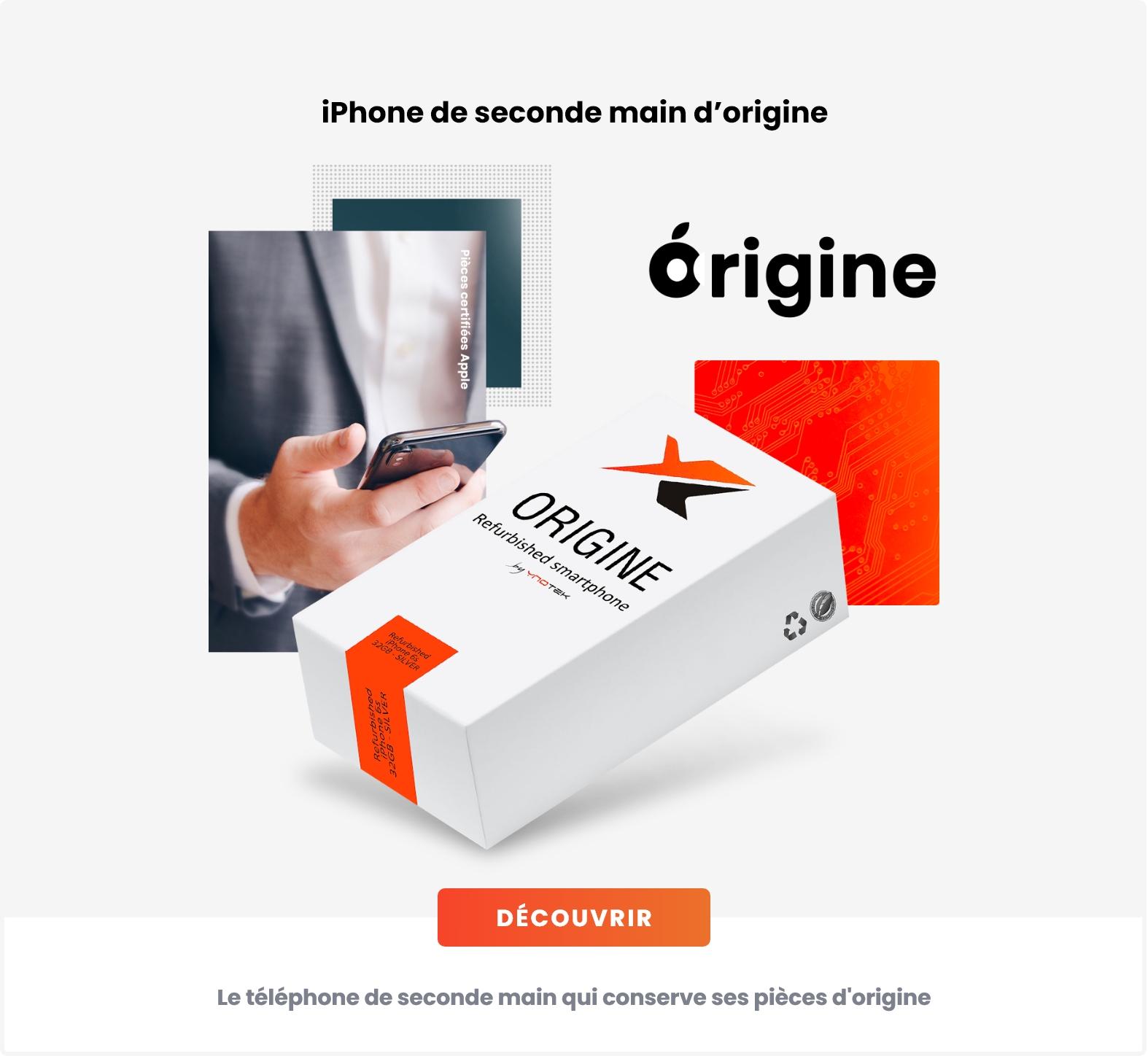 iPhone reconditionné origine