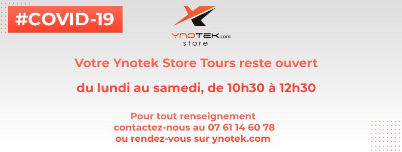 Ynotek store tours ouvert