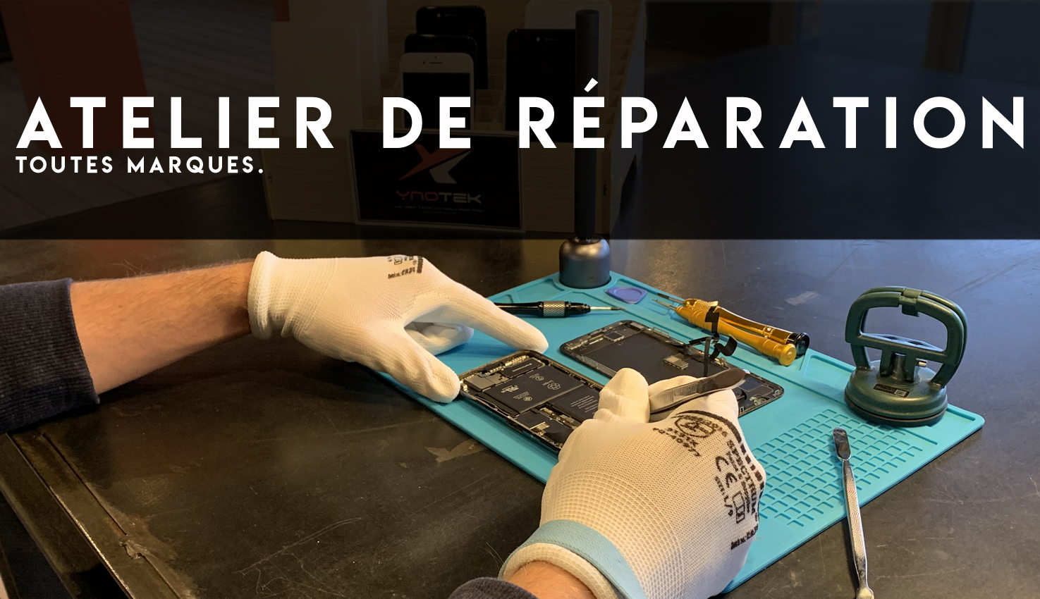 reparation iphone tours