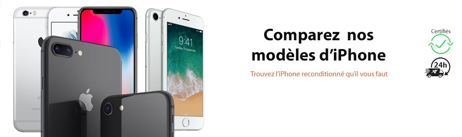 Trouver votre iPhone reconditionné à petit prix avec Ynotek France