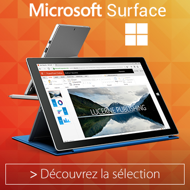 Surface Pro microsoft recondionnés