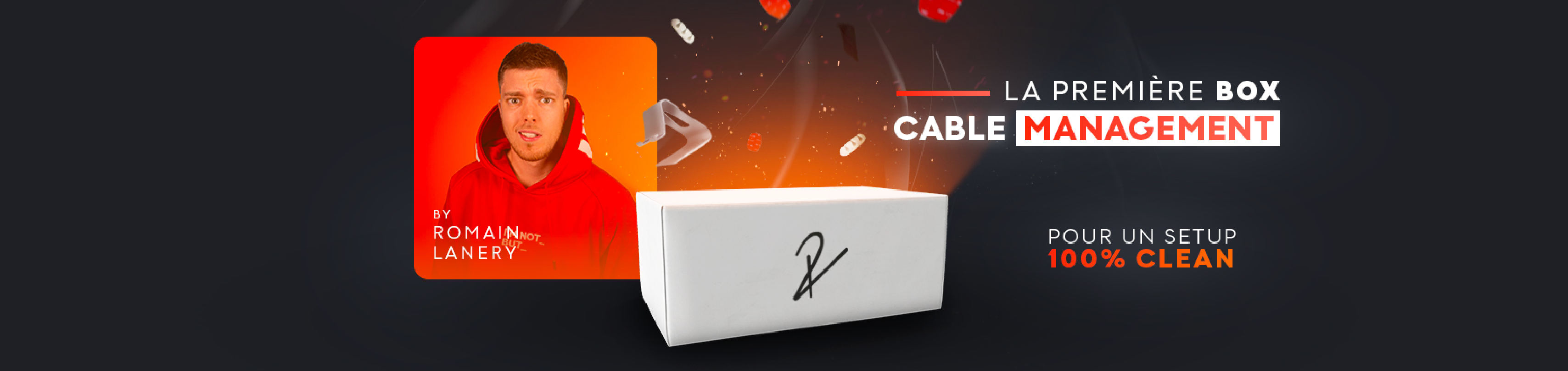 Cable management par Romain Lanery Technews&test