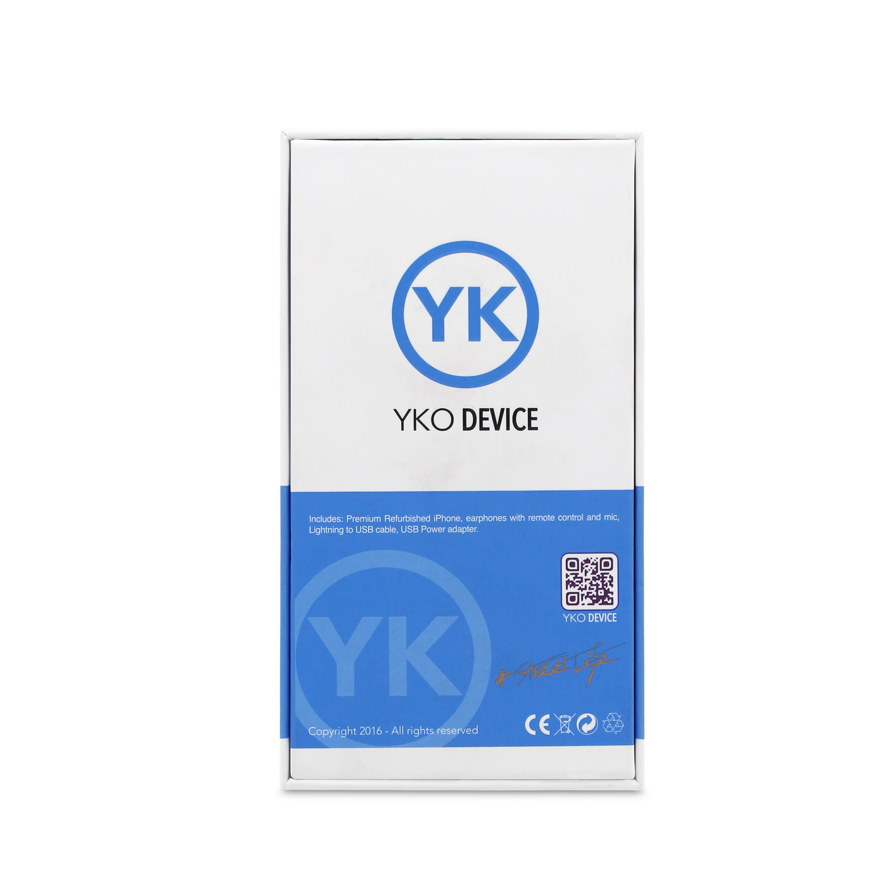 Packaging yko device
