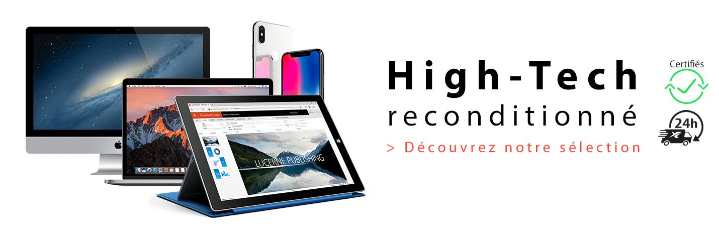 Découvrez notre sélection de produits high tech reconditionnés par Ynotek France