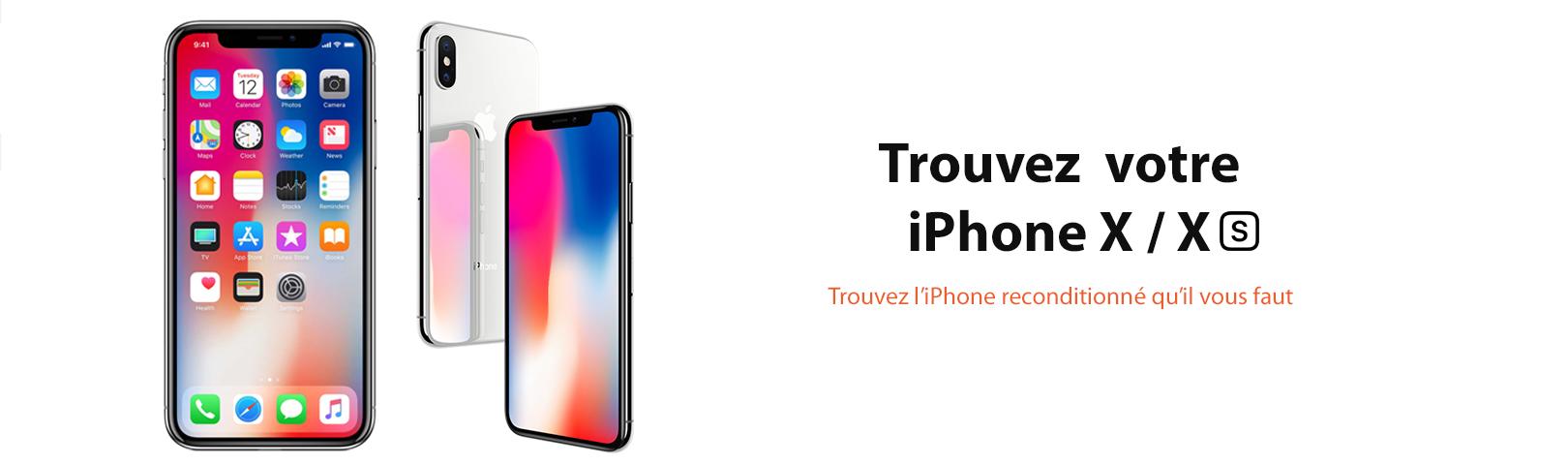 iphone x xs black silver gris noir 128 64 ynotek france reconditionne