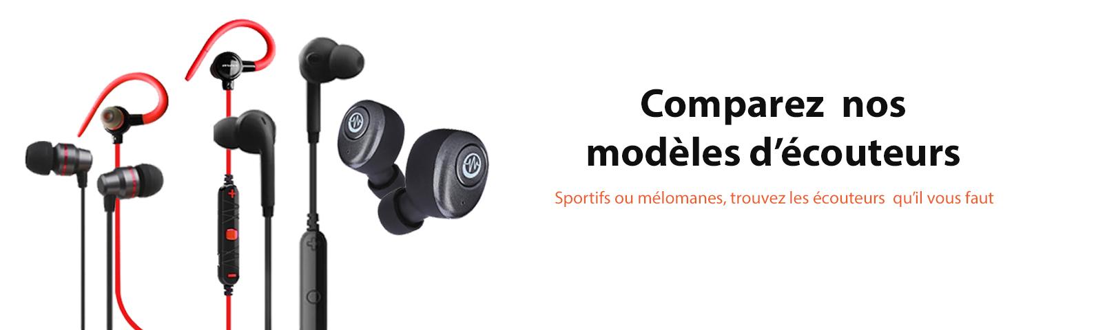 Sportifs ou mélonames, trouvez les écouteurs qu'il vous faut avec Ynotek France