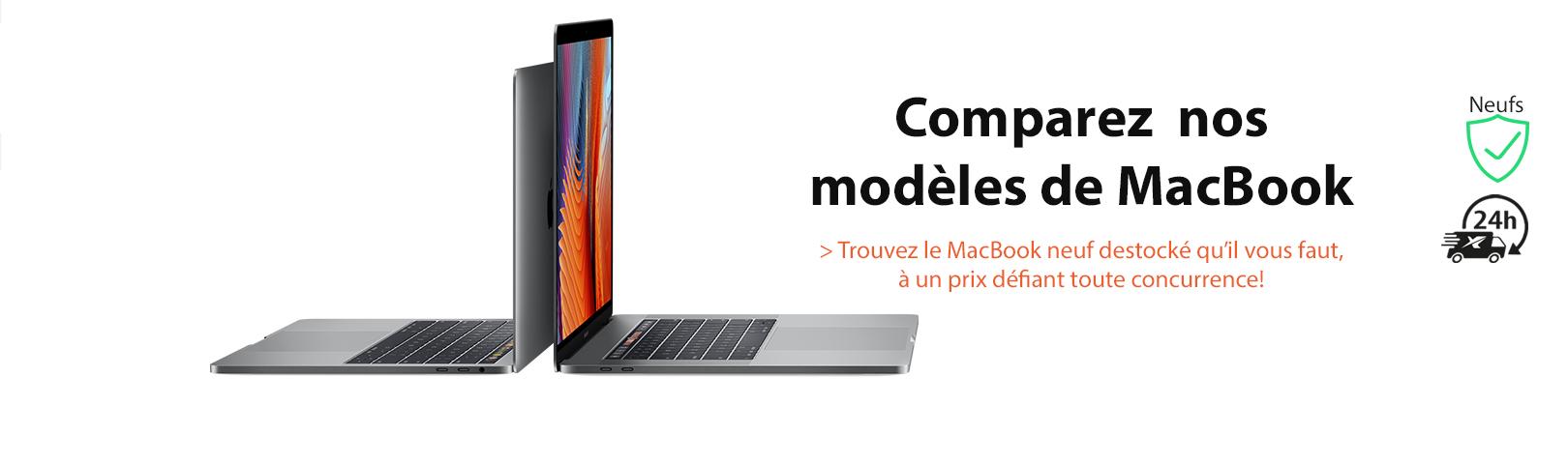 Découvrez notre offre de MacBook neufs au prix du reconditionné