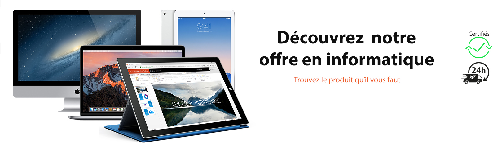 Informatique , pc macbook tablette