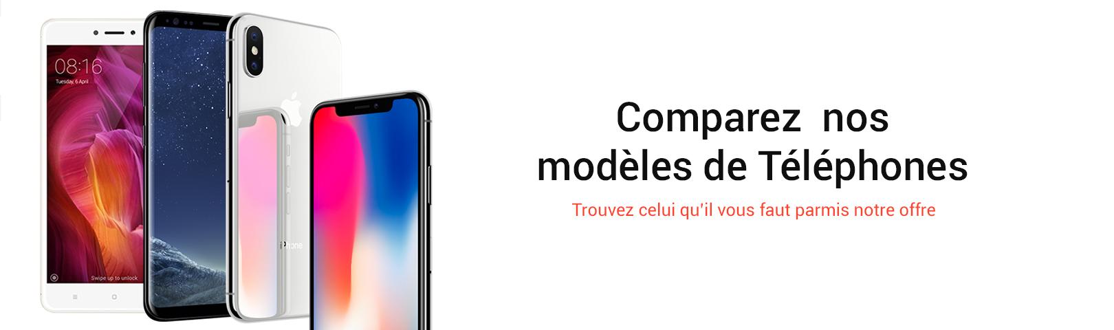 Comparez vos telephones