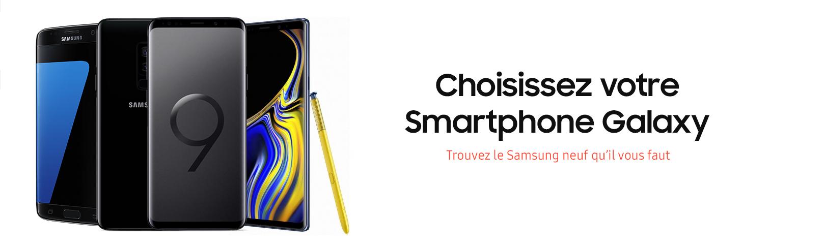 Smartphone samsung neuf galaxy s 7 8 9 note ynotek france garantie