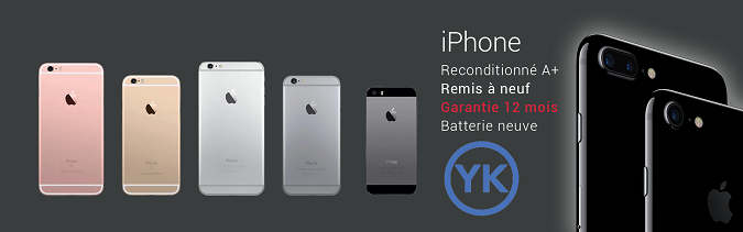 iPhone reconditionné YKO